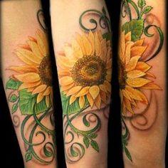 Tatuagem de Girassol - Fotos e Significados - Toda Perfeita