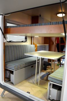 Inside the Knaus Deseo Transport Plus