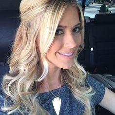 Christina El Moussa Photos @ Reality TV World Blonde Color, Blonde Highlights, Hair Color, Wedding Hair And Makeup, Hair Makeup, Tarek And Christina, Christina El Moussa, Blonde Women, About Hair