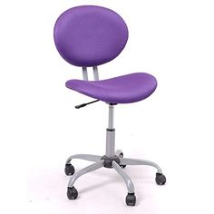 GreenForest Brief Computer Laptop Study Office Desk Student Chair (purple)