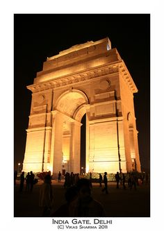 India Gate, Delhi by The Vikas Sharma, via Flickr