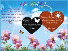 Writing hart www.mekado.nl