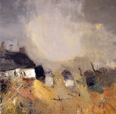 Joan Eardley 1921 - 1963 Joan Eardley, although English by birth, became known and revered as one of Scotland's most prominent mid century artists. Abstract Landscape Painting, Landscape Art, Landscape Paintings, Abstract Art, Modern Art, Contemporary Art, Glasgow, Painting Inspiration, Fine Art