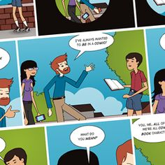 Pixton is an online comic making tool used by millions that empowers anyone to create unique, expressive comics without having to draw.