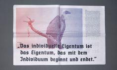 """Die Zeitung """"meins deins unser"""" beschäftigt sich mit den vielen Fragmenten der Erb(un)gerechtigkeit und soll anregen sich dem Tabuthema Erbe, Erbschaft und Vererbung schon vor dem Fall zu stellen. In den nächsten 10 Jahren werden bis zu 3,1 Billionen Euro n Deutschland vererbt. Aber trifft es wirklich jeden von uns? """"meins deins unser"""" dient der [...]"""