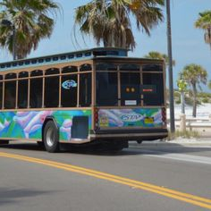 Hop aboard the Suncoast Beach Trolley, a great way to tour beaches and coastal communities from Clearwater Beach to Pass-a-Grille.