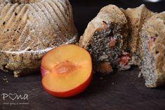 Makové bábovičky s blumami Fruit, Food, Essen, Meals, Yemek, Eten