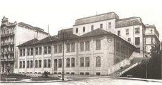 1910-Estabelecimento gráfico dos Irmãos Weiszflog - Vale do Anhangabaú x Rua Líbero Badaró