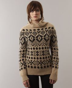 Gorgeous sweater!! Elke Nordic Sweater - Natural