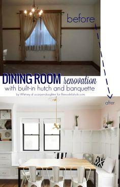 An Ever-Changing Dining Room (with Banquette!)