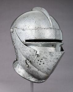 Armet Date: ca. 1500 Culture: German Medium: Steel Dimensions: H. 11 in. (27.9 cm); W. 8 3/4 in. (22.2 cm); D. 12 1/4 in. (31.1 cm); Wt. 5 lb. 0.3 oz. (2276.5 g) Classification: Helmets