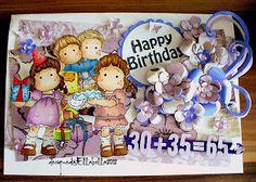 Geburtstagskarte - Magnolia Card