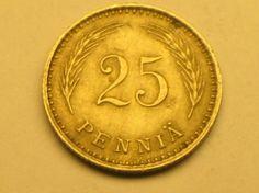 25 penniä 1921, R88