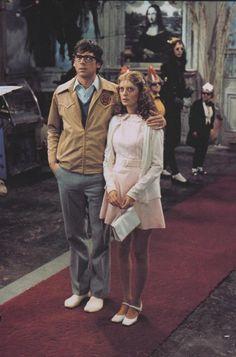 Barry Bostwick and Susan Sarandon in Rocky Horror. 1975 Susan Sarandon was smokin' hot!