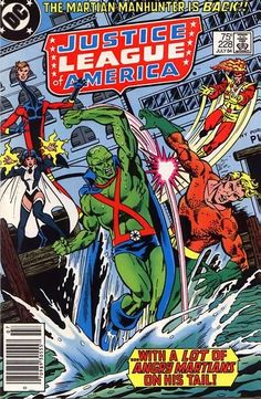 Mars attacks! How dare the Mars Probe libel J'onn J'onzz' homeland? J'onn races the clock to beat an invasion and insure that he remains the JLA's favorite Martian!