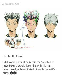 brokkoli-san.tumblr.com | with his hair down you can see how much of a young and adorable cHILD HE IS. LIKE OHMYGOD. LET ME PROTECT YOU FROM ALL EVIL. PLEASE. I WILL ADOPT THE FLOOFY OWL.