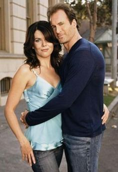 Luke & Lorelei, Gilmore Girls... One of my favorite tv couples of all time.