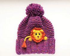 Kinder Wintermutze Monkey Hut Pom Pom Mutze Strickmutze Beanie