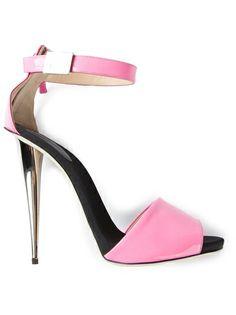 pinterest.com/fra411 #shoes - Giuseppe Zanotti Design Ankle Strap Sandal