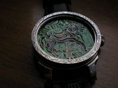 Enamel dial watch - Leszek Kralka