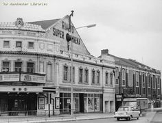 I also lived 5 minutes away on Broom Lane This was the cinema we went to in the and Rialto cinema, Higher Broughton in Salford Will never forget Old Pictures, Old Photos, Amazing Pictures, I Love Manchester, Salford City, Old M, History Facts, Back In The Day