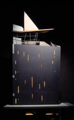 Zaha Hadid (1950 – 2016) | Azabu-Jyuban Building | Tokyo, Japan | 1986 | http://www.zaha-hadid.com
