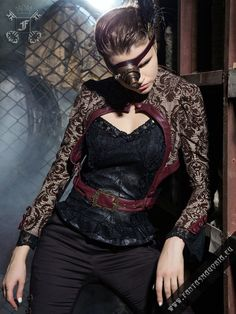 Barocco+bolero+with+removable+belt