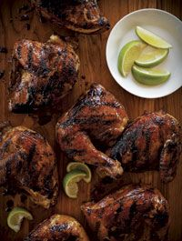 Barbecue Caribbean-Glazed Chicken
