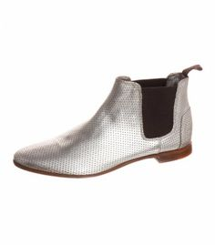 POLLY - Stiefelette - silber