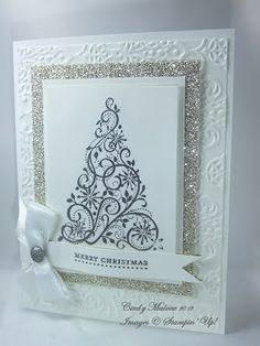 Stampin' Up! Christmas  by Cindy Malone at Discover Stamping: White Christmas