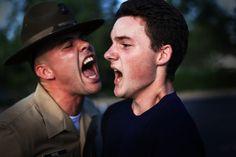 Marine Corps Drill instructor !
