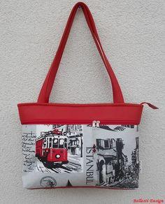 Isztambul mintás női válltáska - sötétpiros (BellestiDesign) - Meska.hu   handmade   54538cecfd