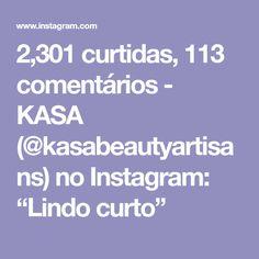 "2,301 curtidas, 113 comentários - KASA (@kasabeautyartisans) no Instagram: ""Lindo curto"" Instagram, Thin Hair, White Hair, Haircuts, Colors"