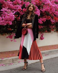 Proof Milan's Street Style Is the Best Place to Find Print Outfit Inspo – outfits Milan Street Style, Cool Street Fashion, Street Styles, Street Style Summer, Street Chic, Mode Outfits, Fashion Outfits, Womens Fashion, Fashion Trends