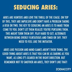 Aries and aries sextrology