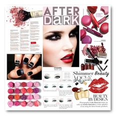"""Beauty After Dark"" by cindy88 ❤ liked on Polyvore featuring beauty, Clinique, Chanel and afterdark"