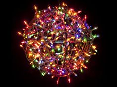 "set contains 3 sizes of HoliSpheres: 10"", 12"" & 14"".  Each ball consists of a   3 ring system that fit together quickly & easily. These Holiday Light Balls add dramatic decoration to indoor or outdoor environments.  Simply wrap your HoliSpheres with string lights & hang or lay them in your yard or house. The serrated outer edges of the rings help grab the string of lights as you wrap your HoliSphere. Weddings, Parties and Barbecues! When you are done, disassemble them & they pack flat!"