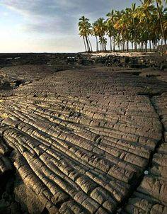 ✮ Old Lava Patterns - Big Island, Hawaii