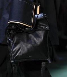 Céline Sticks with Very Simple, Soft Bags for Fall 2016