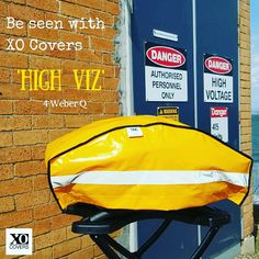 Get seen with the XO Cover High Viz - great gift idea for the man in your life!  See the full XO Cover range for Weber grills at etsy  www.etsy.com/au/shop/XOCovers