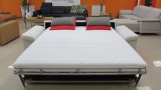 Steel XXL - rozkladacia sedacia súprava na každodenné spanie Steel, Bed, Furniture, Home Decor, Decoration Home, Stream Bed, Room Decor, Home Furnishings, Beds