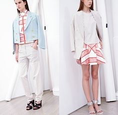 3.1 Phillip Lim 2014 Resort Womens Presentation - Cruise Collection Pre Spring: Designer Denim Jeans Fashion: Season Collections, Runways, Lookbooks and Linesheets