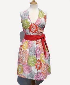 Day of the Dead / Mexican Dia de los Muertos Inspired Papel Picado Cute Summer Dress. $59.00, via Etsy.