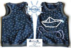 Freebook 'MiniSun' - Sommer-Tanktop mit Racerback für Kinder (Gr. 74-140)