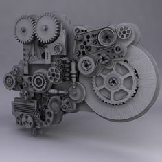 3d model of mechanism