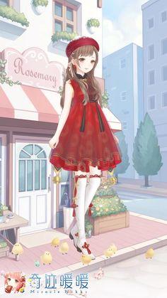 Manga Anime, Anime Art, Nikki Love, Nct, Girls With Flowers, Anime Dress, Gaara, Anime Sketch, Anime Outfits