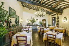 Hotel Villa le Barone The restaurant