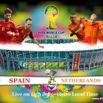 The 3rd Match of the FIFA World Cup 2014 will be played on Friday, 13th June, 2014 at Arena Fonte Nova, Salvador in between the Group B Teams of FIFA World Cup 2014 - Spain V/S Netherlands. So, it's time to predict - Who will Win the FIFA World Cup 2014...