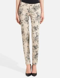 678 Printed Skinny Jeans | Women's Denim | THE LIMITED