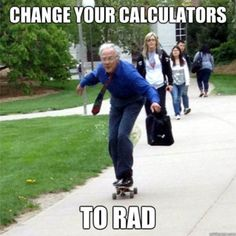 University of Nebraska-Lincoln professor is a legend for riding his skateboard between classes. Not only does he skate, but Tom Winter rides in style, well according to his meme captions. Nebraska, Math Jokes, Math Humor, Nerd Jokes, Science Jokes, Nerd Humor, I Smile, Make Me Smile, Goofy Smile